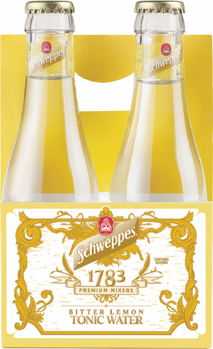 Schweppes Bitter Lemon Tonic Water Perspective: front