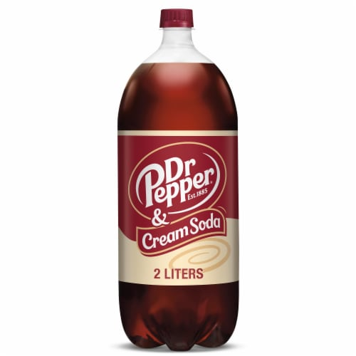 Dr Pepper Cream Soda Perspective: front