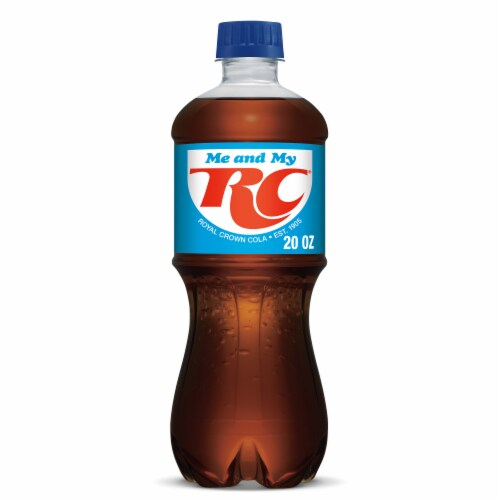 RC Cola Perspective: front