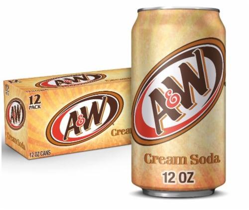 A&W Cream Soda Perspective: front