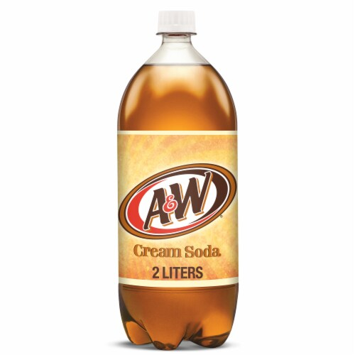 A&W Cream Soda Perspective: front