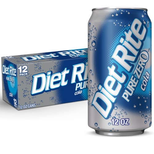 Diet Rite Cola Perspective: front