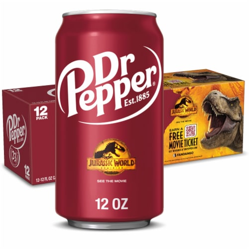 Dr Pepper® Soda Perspective: front