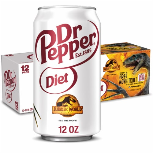 Diet Dr Pepper Soda Perspective: front