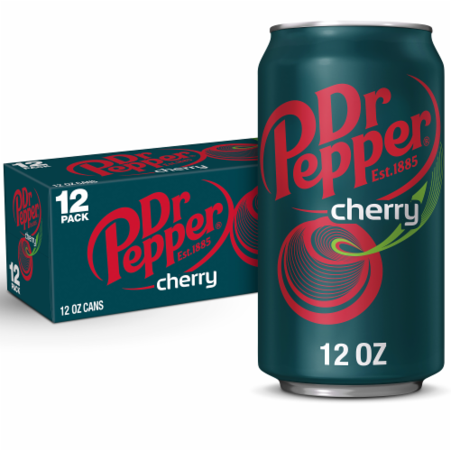 Dr Pepper Cherry Soda Perspective: front