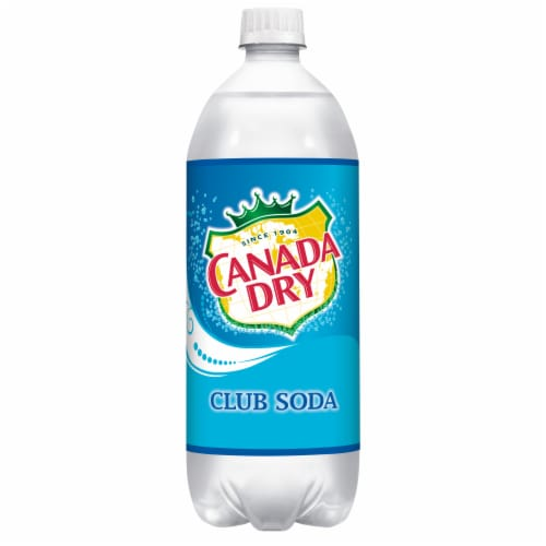 Canada Dry Club Soda Perspective: front
