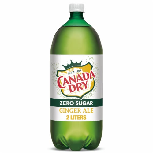 Diet Canada Dry Ginger Ale Soda Perspective: front