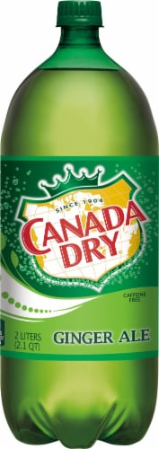 Canada Dry Ginger Ale Soda Perspective: front