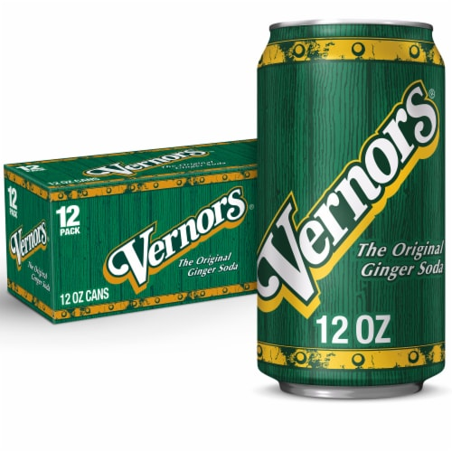 Vernors Ginger Soda Perspective: front