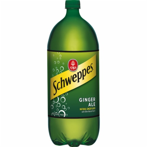 Schweppes Ginger Ale Soda Perspective: front