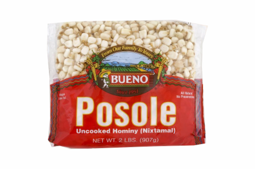 Bueno Posole Uncooked Hominy Perspective: front