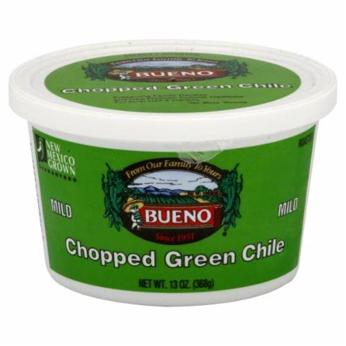 Bueno Mild Chopped Green Chile Perspective: front