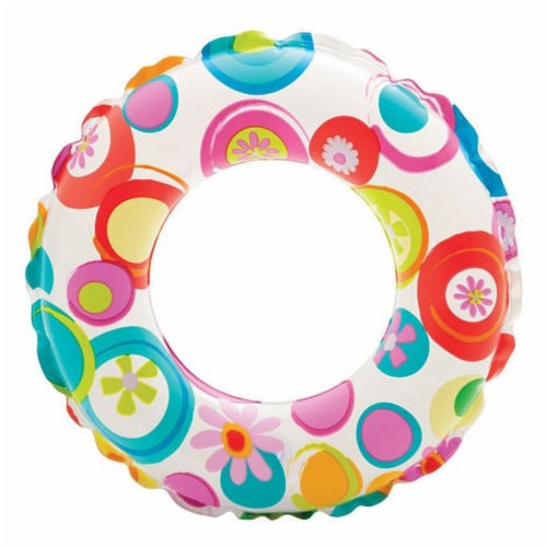 Intex 20-Inch Lively Ocean Friends Inflatable Kids Swim Ring Tube  Pool Float Perspective: front