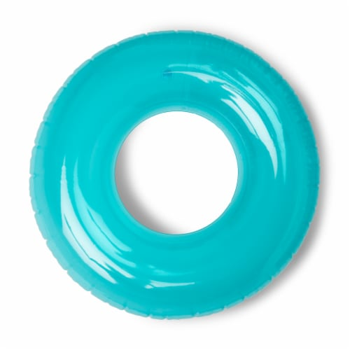 Intex 59260EP Colorful Transparent Inflatable Swimming Pool Beach Tube Raft Perspective: front
