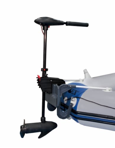 INTEX 12V Transom Mount Boat Eight Speed Trolling Motor | 68631E Perspective: front