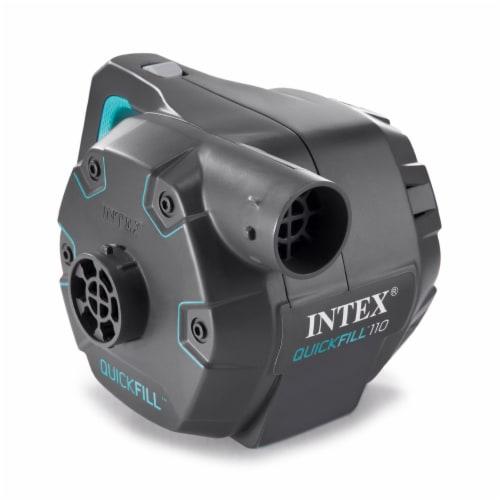 Intex Quick Fill 120 Volt AC Electric 38.9 CFM Inflatable Float & Air Bed Pump Perspective: front