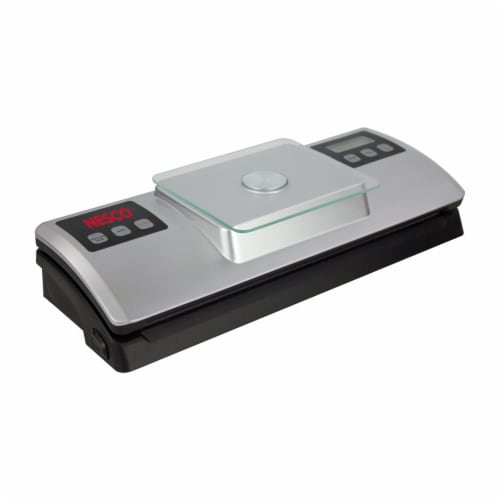 Nesco Deluxe Vacuum Sealer with Digital Scale Perspective: front