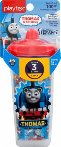 Playtex Stage 3 Spout Cup Thomas The Train Perspective: front