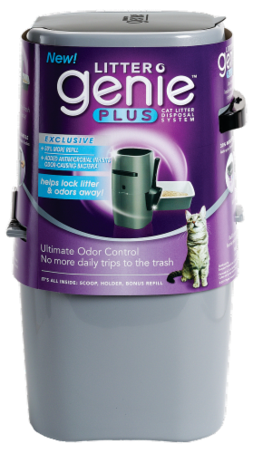 Litter Genie Plus Perspective: front