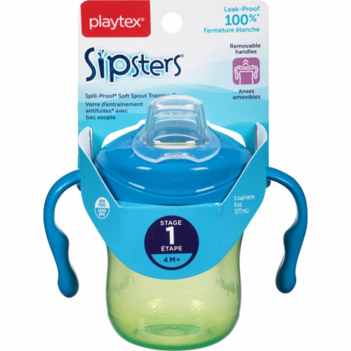 Playtex Sipsters Stage 1 Trainer Sippy Cup Perspective: front