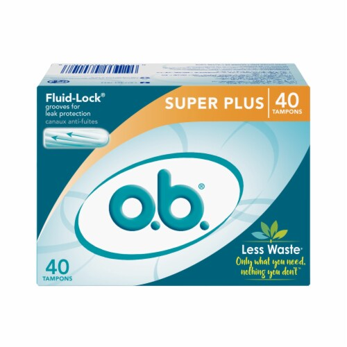 o.b. Super Plus Tampons Perspective: front