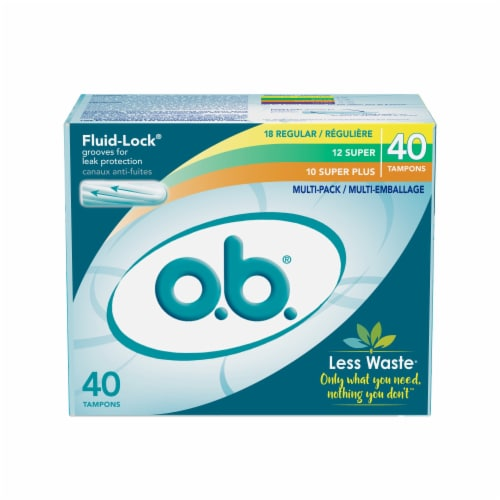 o.b. Tampons Multi-Pack Perspective: front