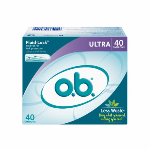 o.b. Ultra Tampons Perspective: front