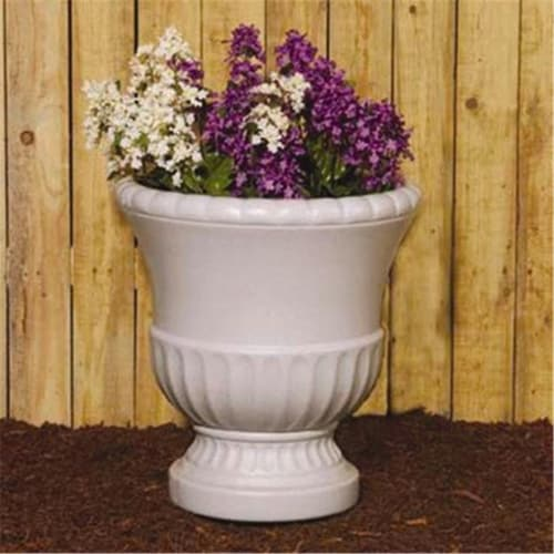 Union Products 53300SC Round Concrete Grecian Urn Planter Perspective: front
