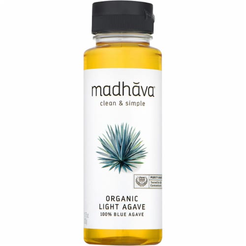 Madhava Organic Blue Light Agave Perspective: front