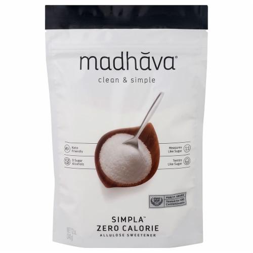 Madhava Simpla Zero Calorie Allulose Sweetener Perspective: front