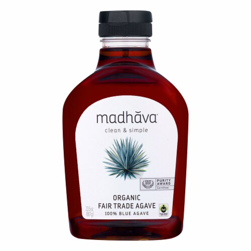Madhava Organic Fair Trade Agave Perspective: front