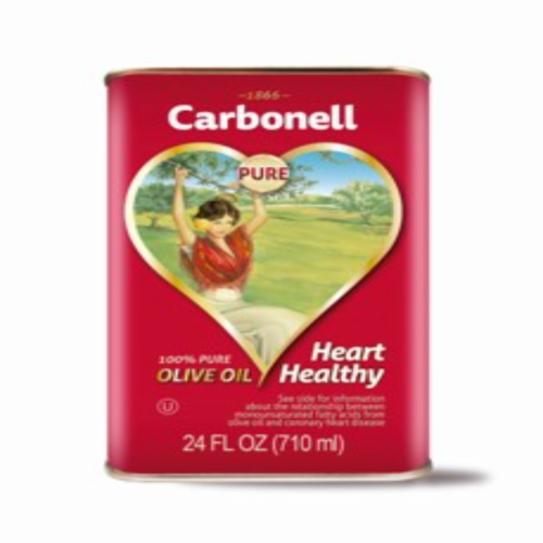 Carbonell Tin Spanish Olive Oil Perspective: front