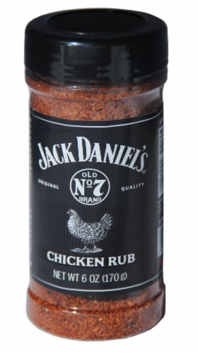 Jack Daniel's Chicken Rub Seasoning Perspective: front