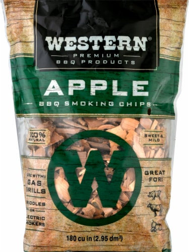 Western® Apple BBQ Smoking Chips Perspective: front