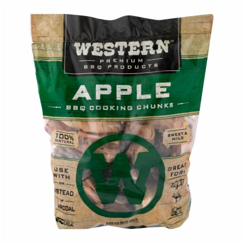 Western® Apple BBQ Cooking Chunks Perspective: front
