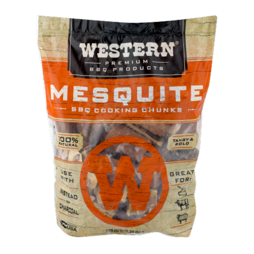 Western® Mesquite Cookin' Chunks Perspective: front