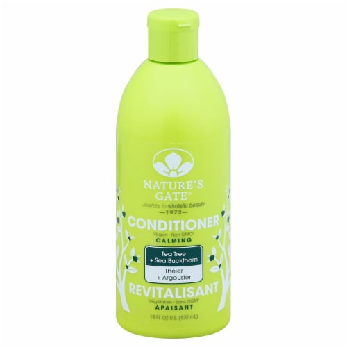 Nature's Gate Tea Tree and Sea Buckthorn Conditioner Perspective: front