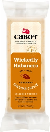 Cabot Hot Habanero Cheddar Cheese Perspective: front