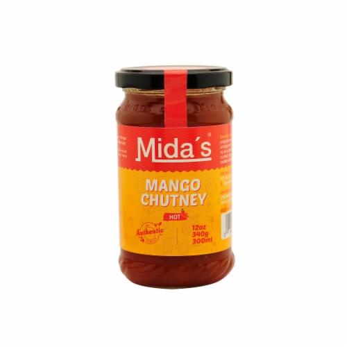 Mida's Hot Mango Chutney Perspective: front