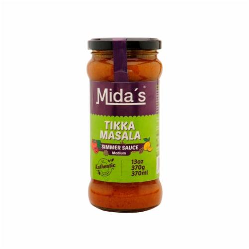 Mida's Medium Tikka Masala Simmer Sauce Perspective: front