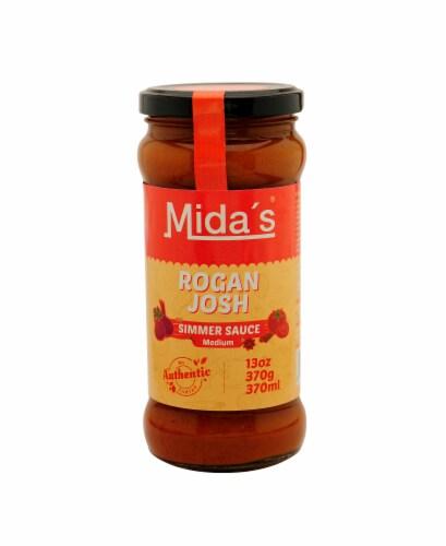 Mida's Medium Rogan Josh Simmer Sauce Perspective: front