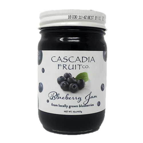 Cascadia Fruit Co. Blueberry Jam Perspective: front
