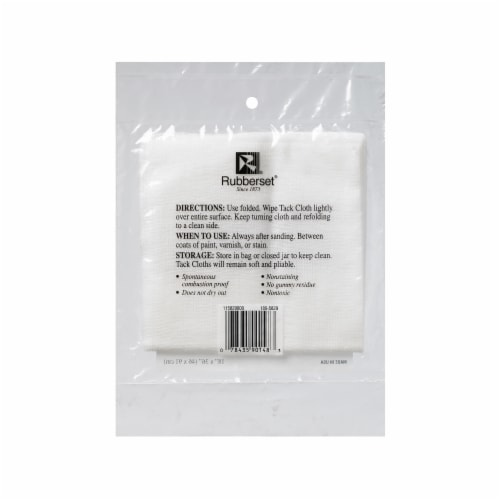 Rubberset® Tack Cloth Perspective: front