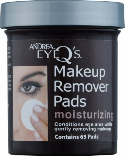 Andrea EyeQ's Makeup Remover Pads Perspective: front
