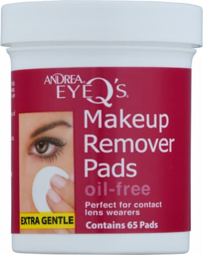 Andrea Eye Q's® Makeup Remover Pads Perspective: front