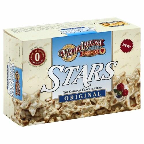 Valley Lahvosh Stars Original Crackerbread Perspective: front