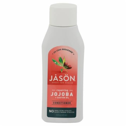Jason Strong & Healthy Jojoba + Castor Oil Conditioner Perspective: front