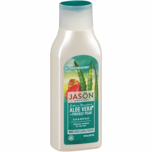 Jason Intense Moisture Aloe Vera 80% + Prickly Pear Shampoo Perspective: front