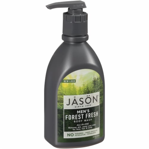 Jason Men's Forest Fresh All-In-One Body Wash Perspective: front