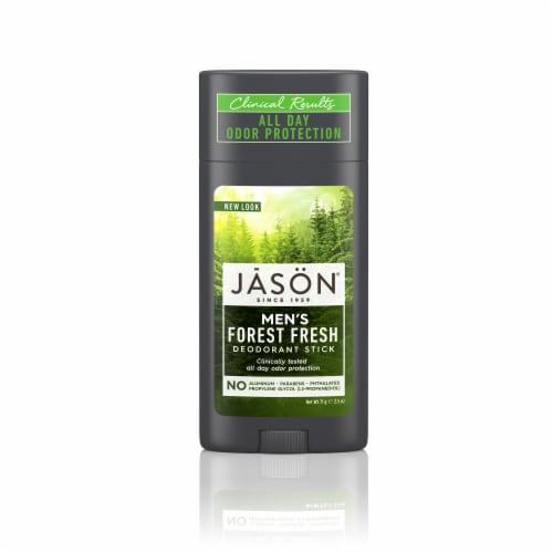 Jason Men's Forest Fresh Deodorant Stick Perspective: front